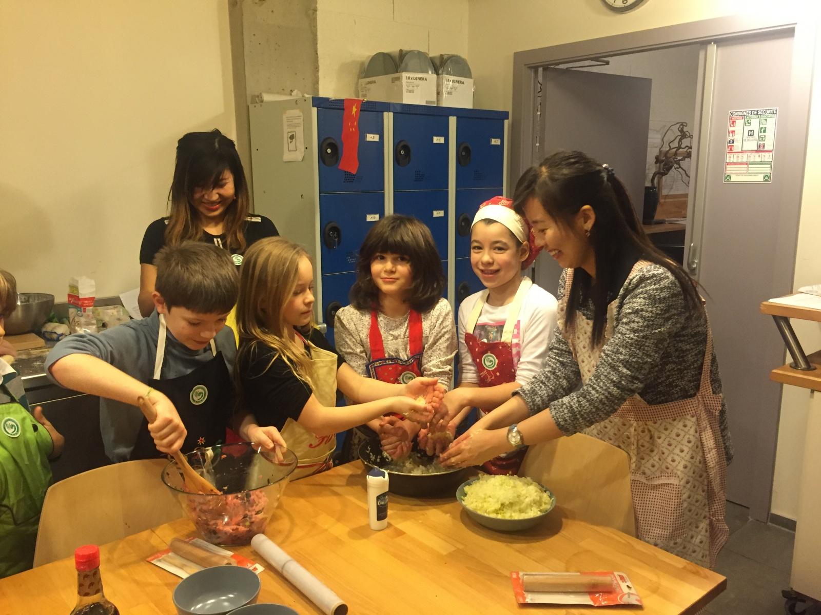 Nouvelle cours de cuisine chinoise pour enfants un jeu - Cours cuisine pour enfants ...