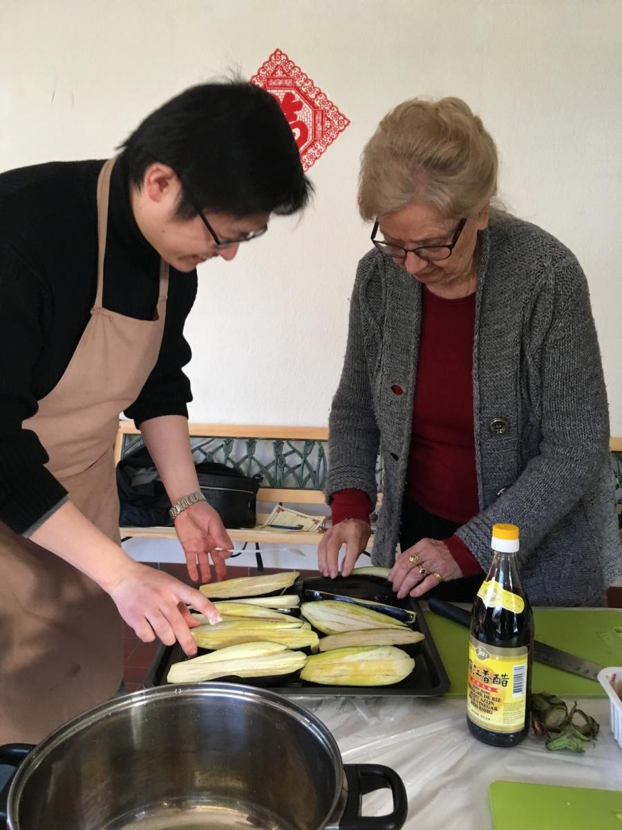 Ev nement atelier de cuisine chinoise institut for Apprendre la cuisine chinoise