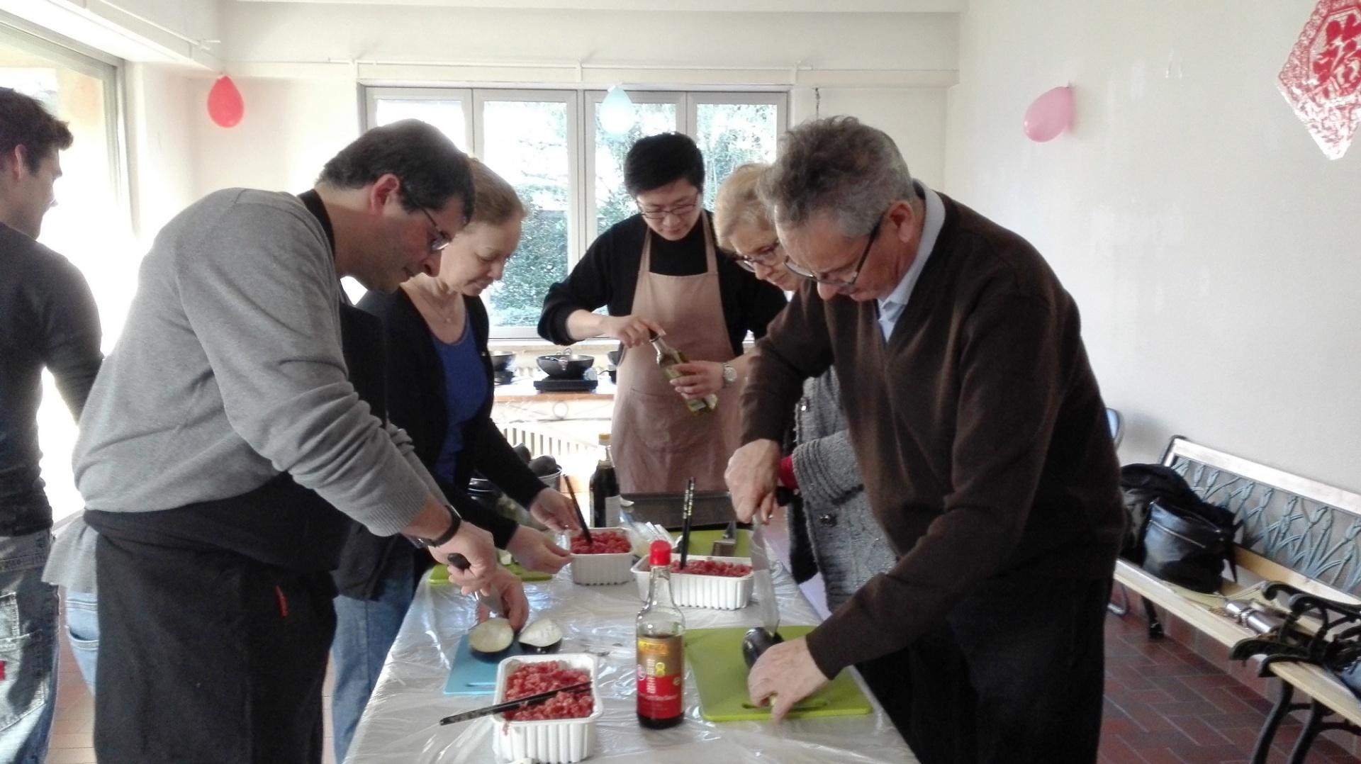 Ev nement atelier de cuisine chinoise institut for Apprendre cuisine chinoise
